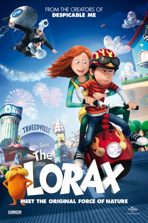 Dr.Seuss The Lorax คุณปู่โรแลกซ์ มหัศจรรย์ป่าสีรุ้ง [HD][พากย์ไทย]