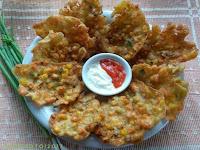Resep dan cara membuat BAKWAN Jagung Wortel Krispi dan renyah