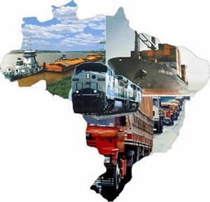 #MEIOS DE TRANSPORTES NO BRASIL