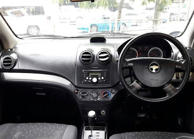 Interior Chevrolet Kalos / Lova