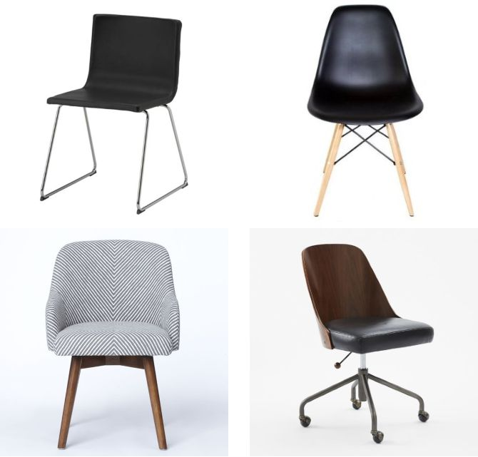Non Rolling Office Chairs