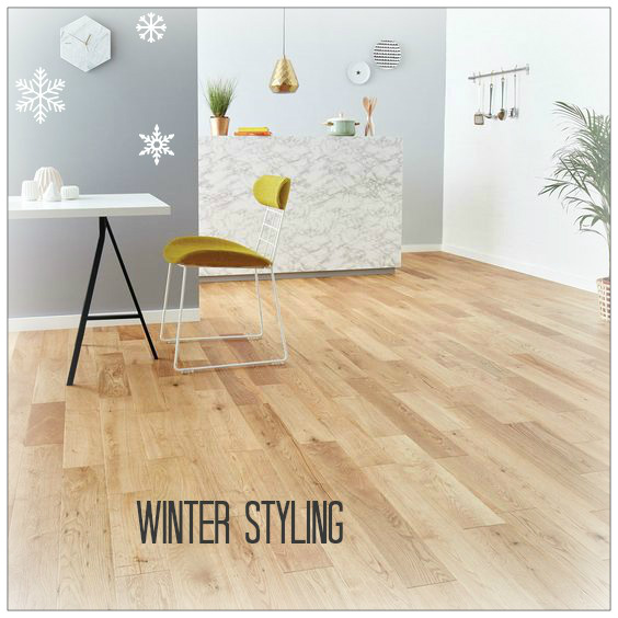 wood flooring for winter