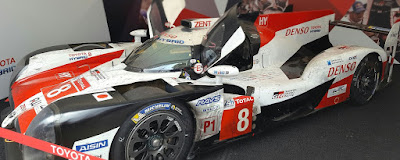 Le Mans winning Toyota TS050 Hybrid