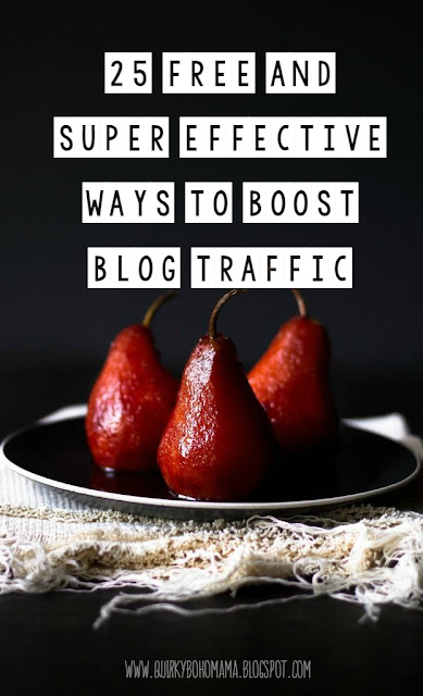 25 FREE and Super Effective Ways to Boost Blog Traffic {Blogging for Profit}