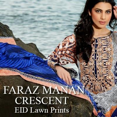 246ffc4365 Crescent - Faraz Manan Eid Lawn Collection 2014-2015 - She9 | Change ...