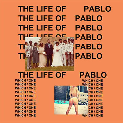 The 10 Worst Album Cover Artworks of 2014: 03. Kanye West - The Life of Pablo