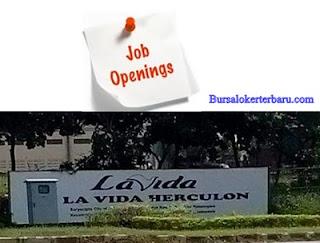 PT La Vida Herculon - Operator Produksi