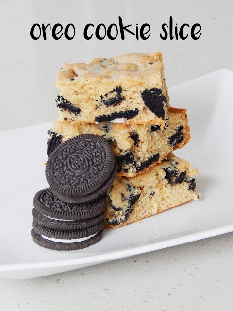 oreo cookie slice