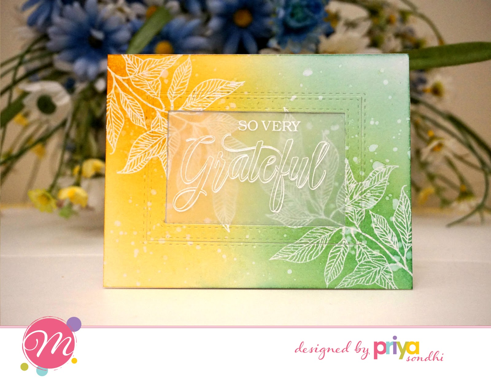 mudra craft stamps card inspirations for mudra october release