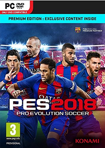 pes - Pro Evolution Soccer 2018 PC