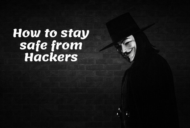 how to stay safe from hackers