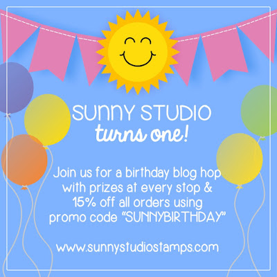 Sunny Studio Birthday Blog Hop Giveaway