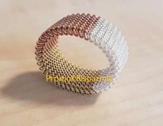 Logo Vinci gratis un anello trittico di Elasteel