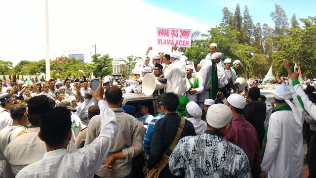 Inilah 13 Point Tuntutan Rakyat Aceh Cinta Ahlussunnah wal Jamaah