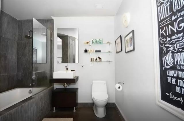 Air Bnb Amazing 1 Bedroom with Terrace Bathroom