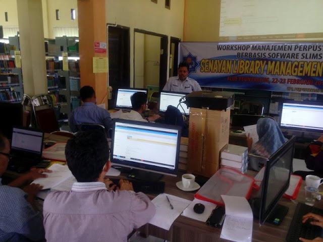 Pustakawan UTU Dibekali Pelatihan Otomasi Perpustakaan