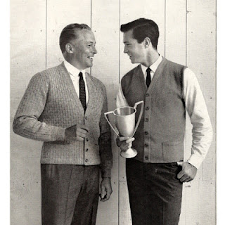 Vintage Cardigan Knitting Patterns for Men