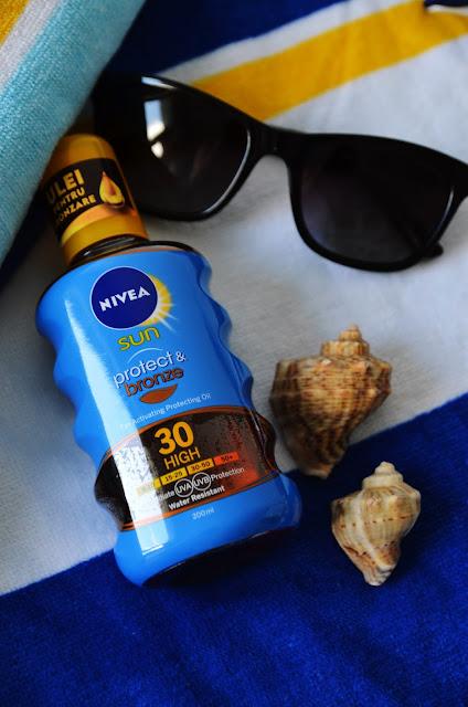 nivea sun protect bronze oil