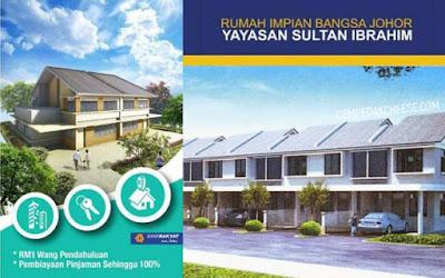 Cara Mendaftar Rumah Impian Bangsa Johor Yayasan Sultan Ibrahim