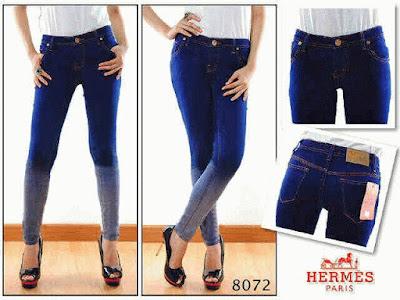 Celana Jeans Wanita Hermes 8072
