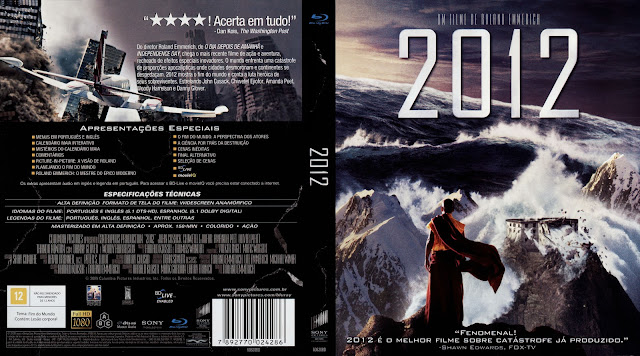 Capa Blu-ray 2012