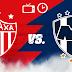 Necaxa vs Monterrey EN VIVO los cuartos de final del torneo Clausura 2019 en la Liga MX. HORA / CANAL