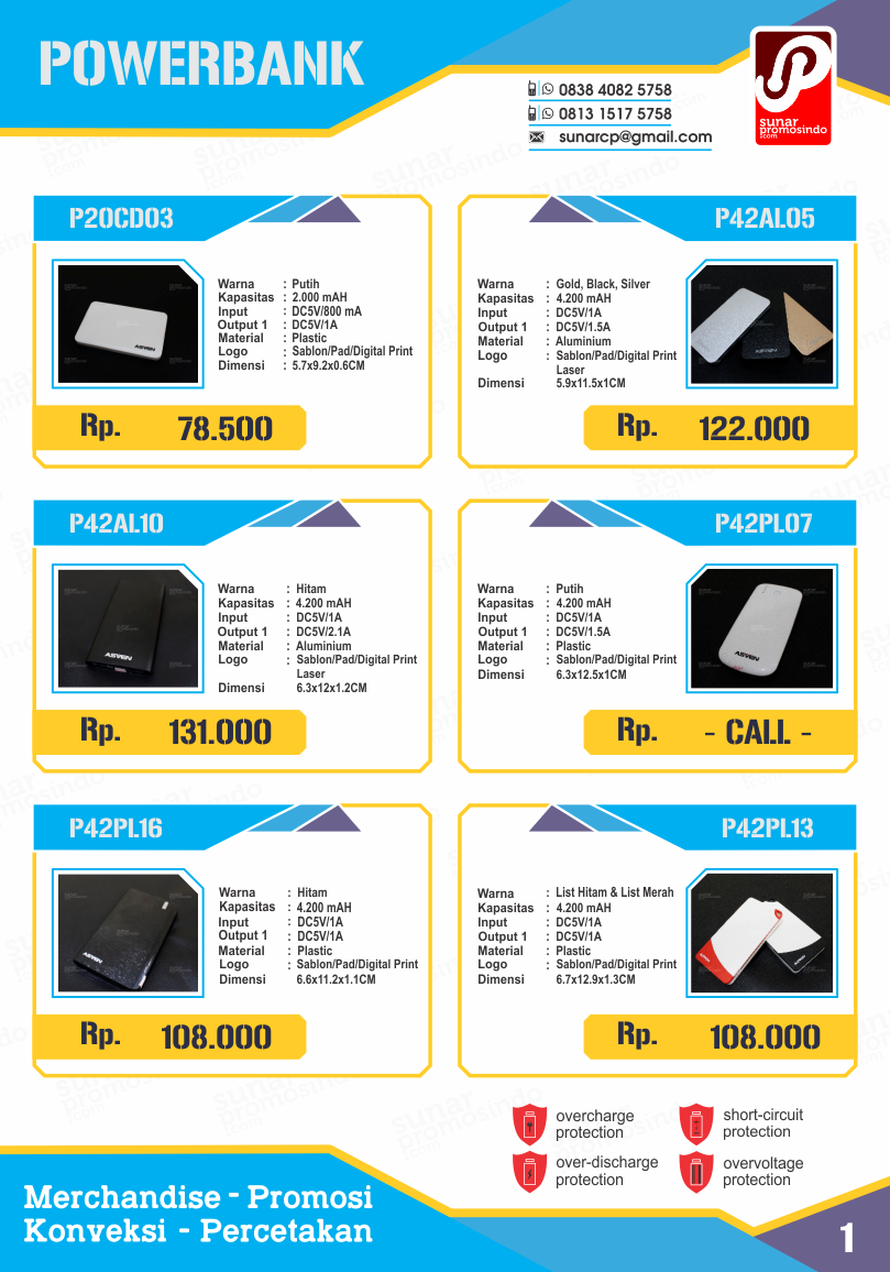 merchandise promosi powerbank