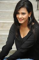 HeyAndhra Hebah Patel Sizzling Photo Shoot in Black Shirt HeyAndhra.com