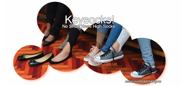 The Very First Knee High No Show Sock Is Here! Keysocks! #MBPWinter18