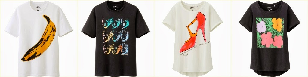 Uniqlo SPRZ NY, Uniqlo Surprise New York, Graphic T Shirt, Andy Warhol