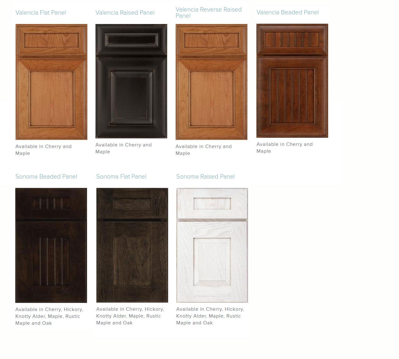 Medallion Cabinetry Valencia And Sonoma Kitchen Cabinets