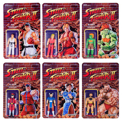 Street Fighter 2 Retro Action Figures Series 1 by Super7