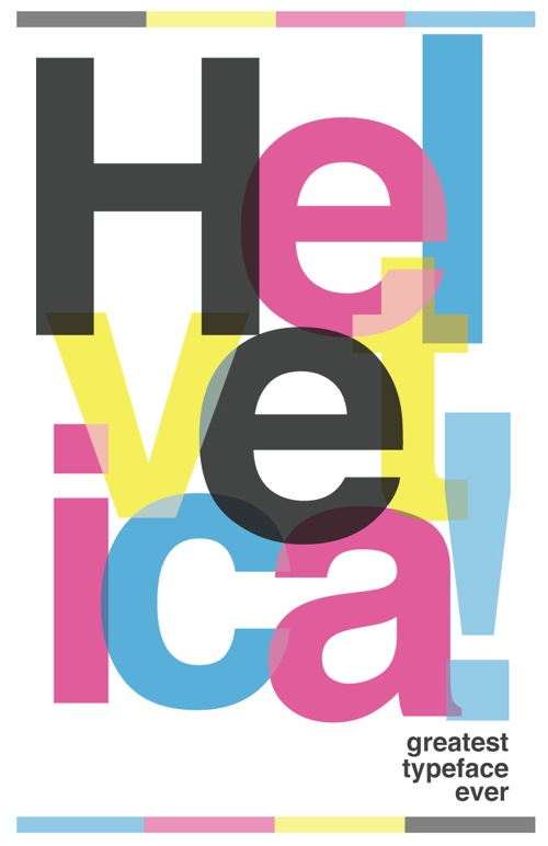 25 Helvetica Poster Design for Inspiration - Jayce-o-Yesta