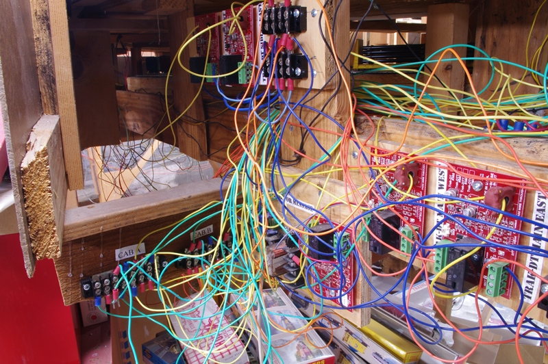 model railroad miscellany the rewiring project resumes\
