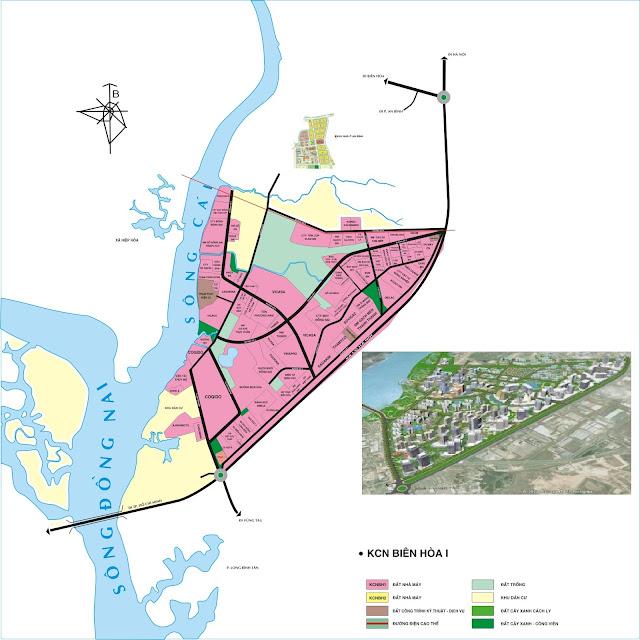 Đồng Nai: 11.364 tỷ đồng chuyển KCN Biên Hòa 1 thành khu đô thị 324 ha