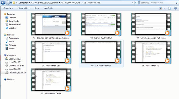 DVD Tutorial Tips Dan Trik Aplikatif Master Codeigniter