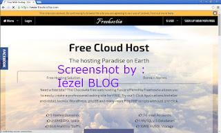 Hosting gratis freehostia.com