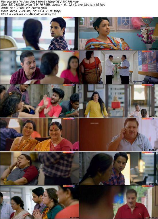 Khajoor Pe Atke 2018 Hindi 480p HDTV 300MB worldfree4u