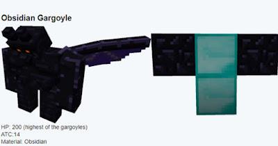 gargola de obsidiana