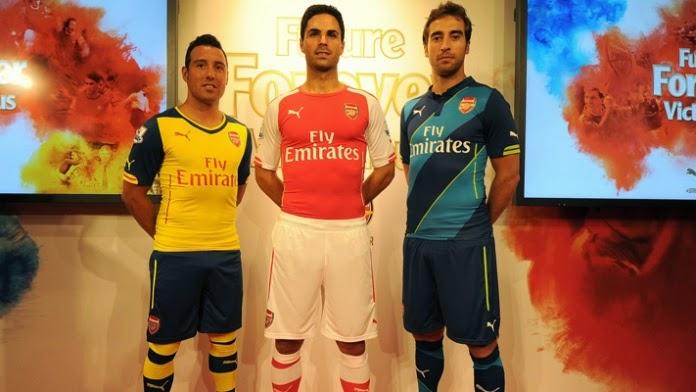 Arsenal and PUMA unveil three new kits