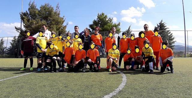 Με επιτυχία ο φιλανθρωπικός αγώνας ποδοσφαίρου του 1ου Δημοτικού Ναυπλίου και του Δημοτικού Αγίου Ανδριανού