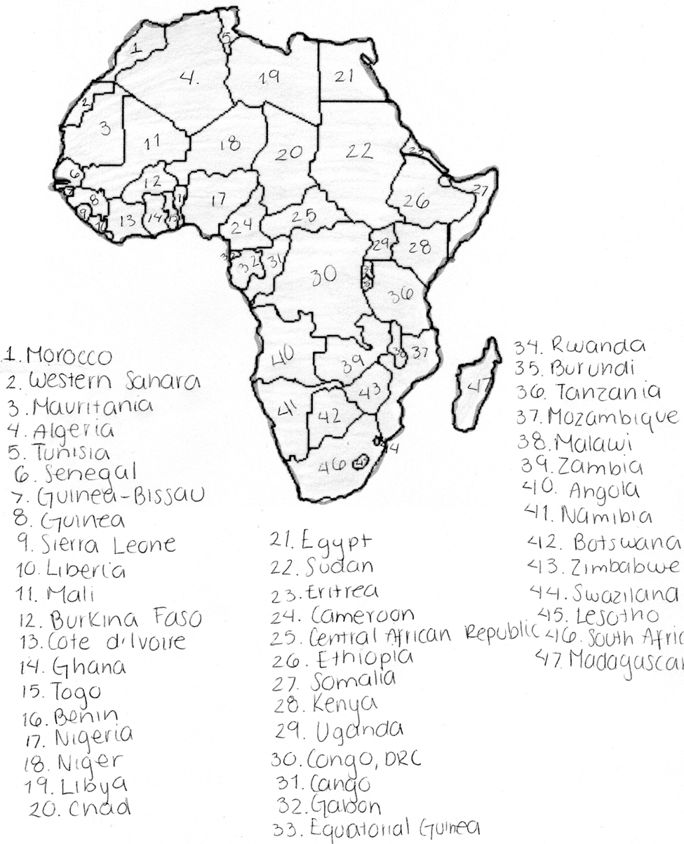 africa blog africa Africa Imperialism Cartoon countries of africa