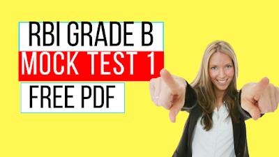 ESI Mock Test for RBI Grade B 2018