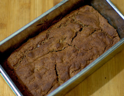 ginger honey cake with ragi flour
