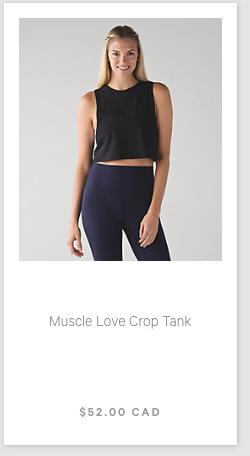 lululemon muscle-love-crop-tank