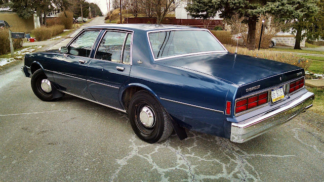 daily turismo auction watch 1989 chevrolet caprice 9c1 police package. Black Bedroom Furniture Sets. Home Design Ideas