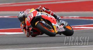 Hasil FP4 MotoGP Ceko 2018: Marquez, Iannone, Rins