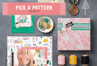 Look more closely at the Pick a Pattern Product Suite by Stampin' Up!
