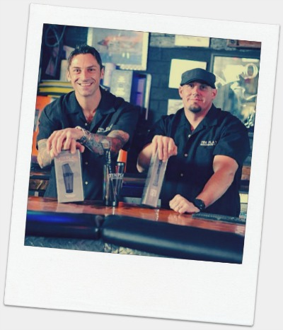 Chad Berkey and Jeremy LeBlanc, authors of The North American Whiskey Guide