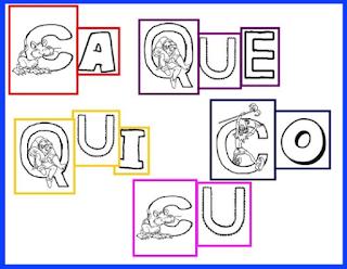 Letras c qu